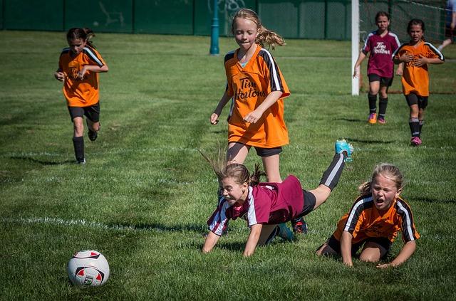 Футбол для девочек в Сочи